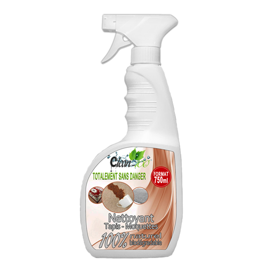 nettoyant tapis sprayer 750ml grand format @clean100 #boutique natural clean